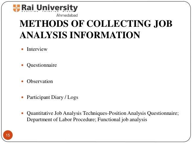 Job Interview Methods  Romefontanacountryinncom Job Analysis Methods Essay Service Bvhomeworknefc Skylinechurch Us