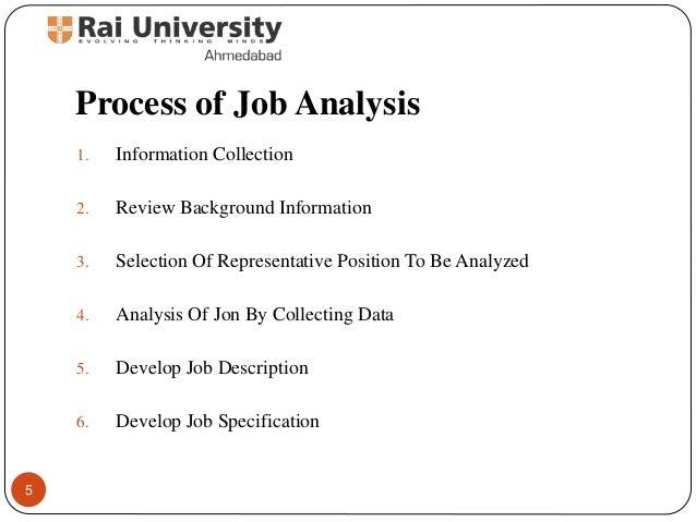 Job analysis Principles of Human Resource Management – Human Resources Job Description