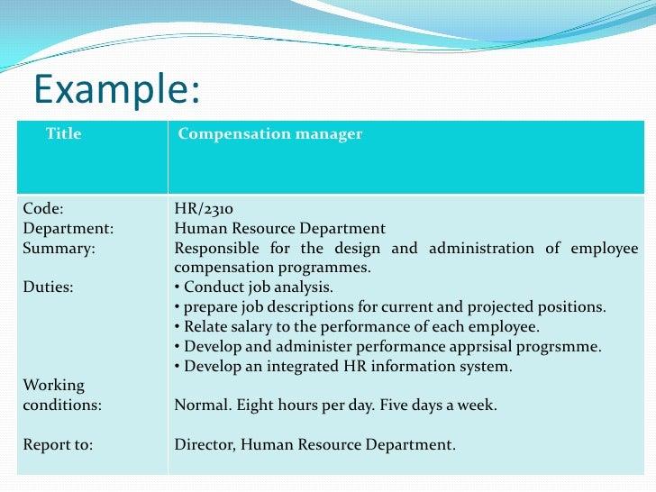 job analysis marketing manager Encyclopedia of business, 2nd ed job analysis: int-loc toggle navigation encyclopedia job analysis will make the hr manager's job easier.