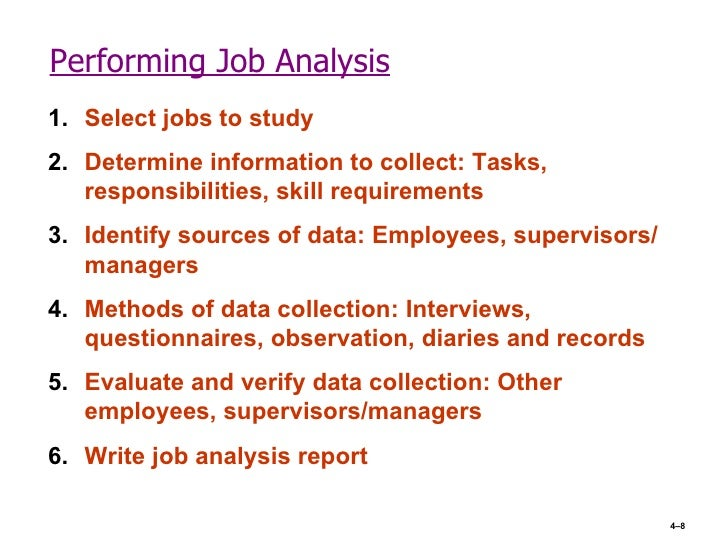 job analysis and job design Job analysis is a very important function of hr, which is related with many activities of human resources management theoretically speaking, job design, job analysis.