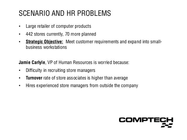 Job Analysis at Comp Tech - HRM Slide 3