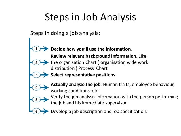 Job Analysis L5