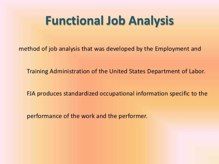 job analysis at ovania chemical How would you conduct a job analysis for a job would this test battery and selection procedure be defensible in court,ovania chemical corporation is a.