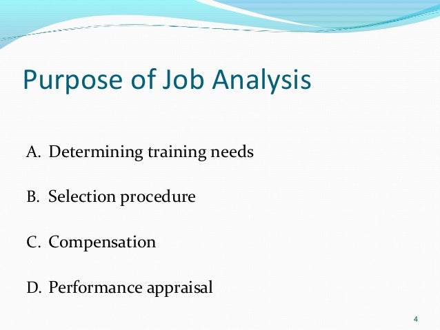 submit an analysis of the employee selection and performance appraisal methods Assessment & selection  performance management performance appraisals  results-oriented performance appraisal plans are central to linking individual.