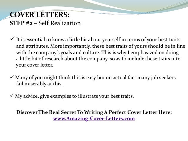 cover sample - Perfect Cover Letter For Job Application