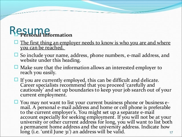 job application objectives