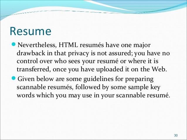 job application letters resume