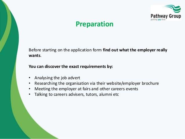 Job Application Skills