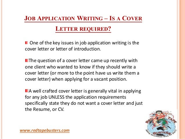 how to prepare cover letter for job application - job application writing importance of cover letter