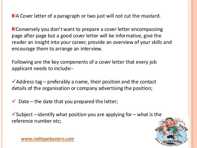when applying for a job what is a cover letter