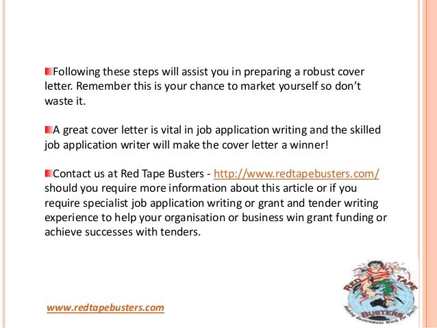 how to make cover letter for job application