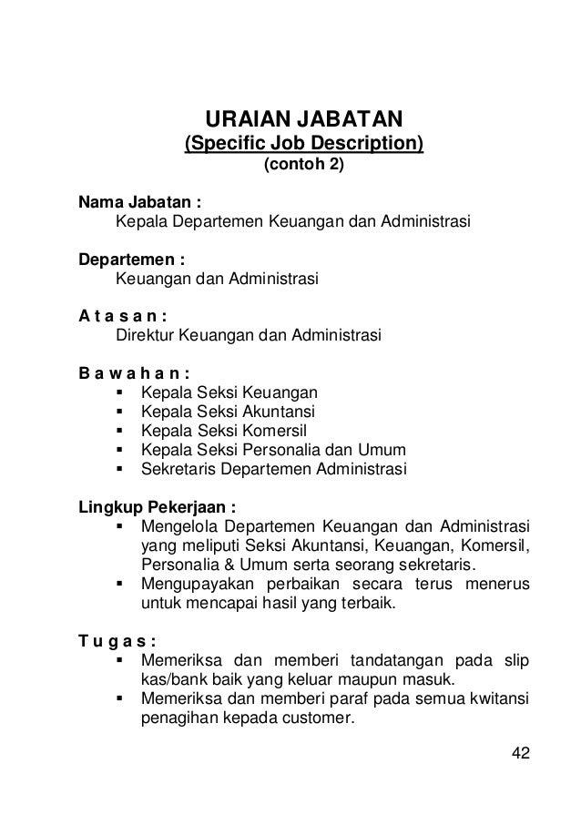 pelatihan job aspects  job analysis  u0026 job description