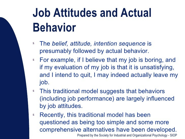 work-related attitudes essay Akey's [21] work showed that several aspects of school context (eg,  attitudes  can therefore be linked directly to motivation and provide key.