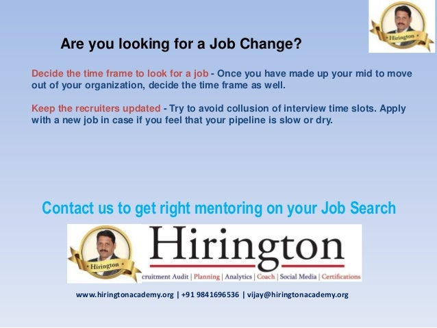 5 are you looking for a job - Why Are You Looking For A New Job