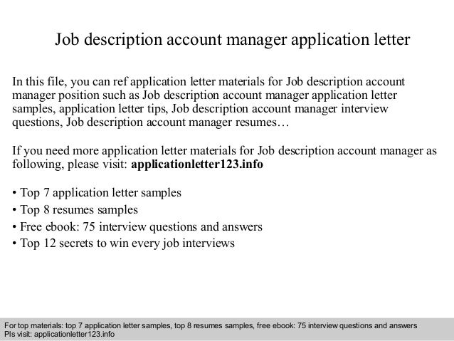 JobDescriptionAccountManagerApplicationLetterJpgCb