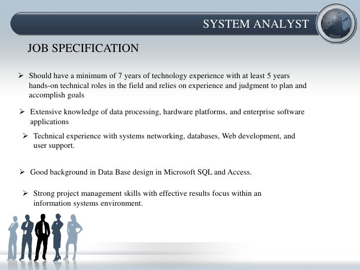 Job Description And Job Specification