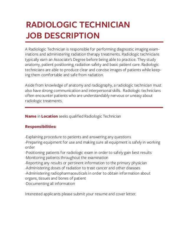 Job Description Templates The Definitive Guide – Patient Care Technician Job Description
