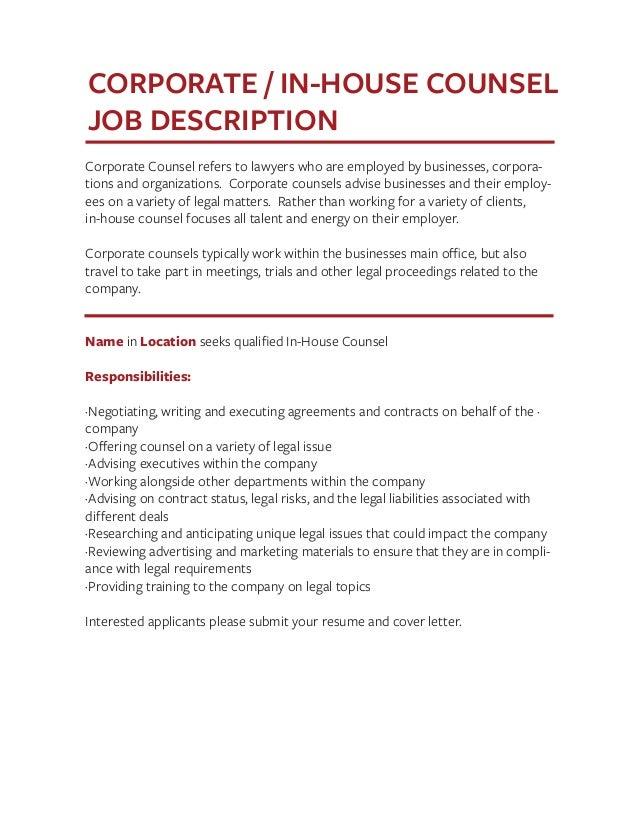 job description janitor