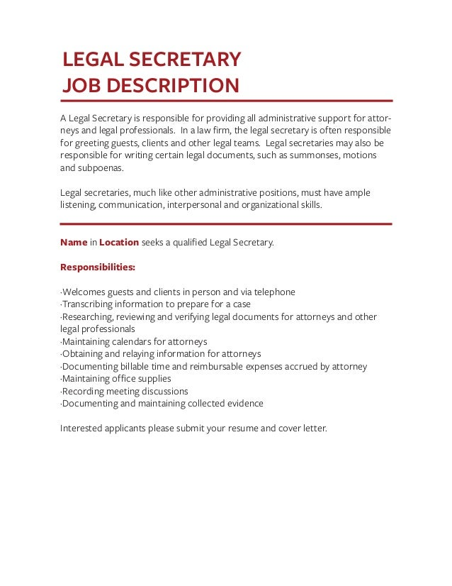 Job Description Templates The Definitive Guide