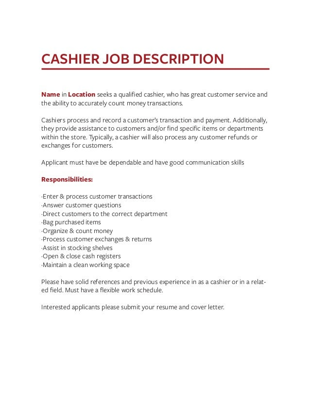 Job Description Templates The Definitive Guide – Dishwasher Job Description