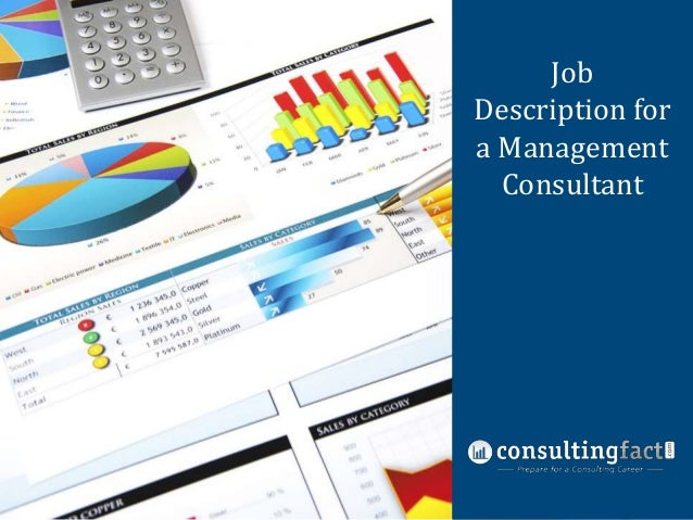 Job Nine Common Description for Management a Management Consulting Fit Interview Consultant Questions