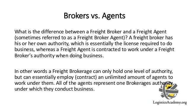Job Description of Freight Brokers and Freight Agents