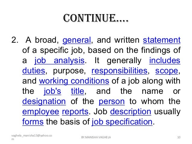 Job descriptions - Insurance compliance officer job description ...