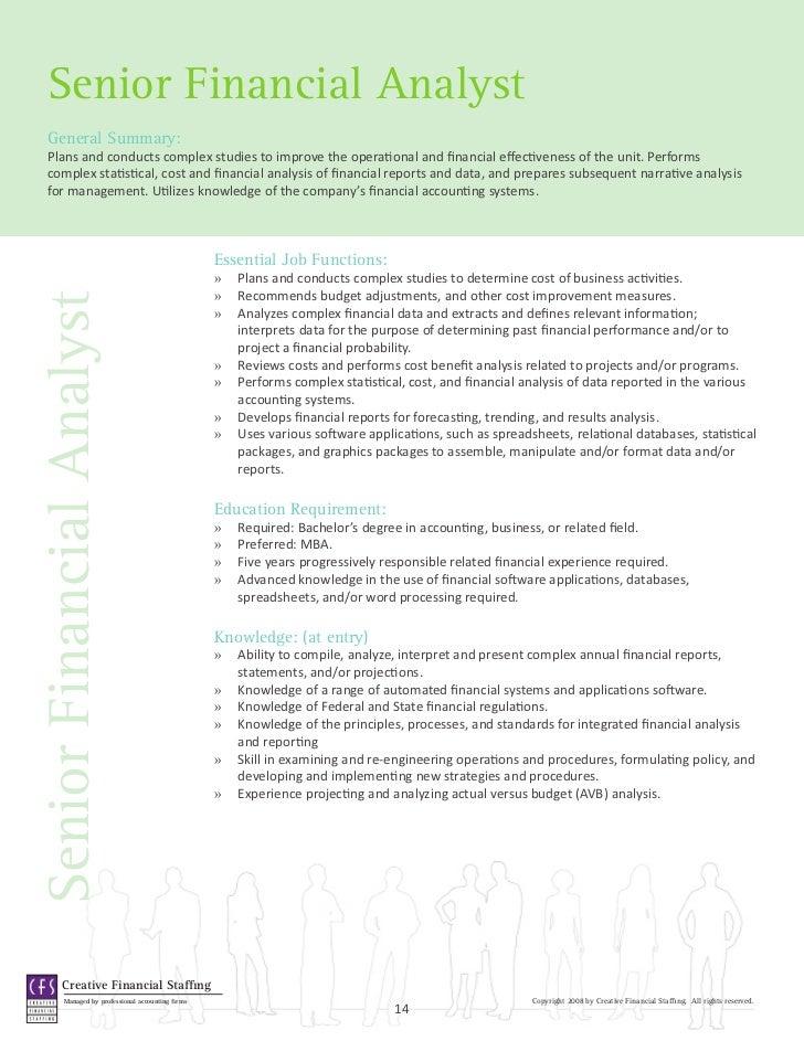 financial analyst journal  software