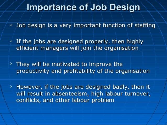 What Is Job Design