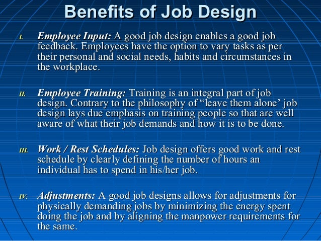 Benefit of job design racial discrimination research paper
