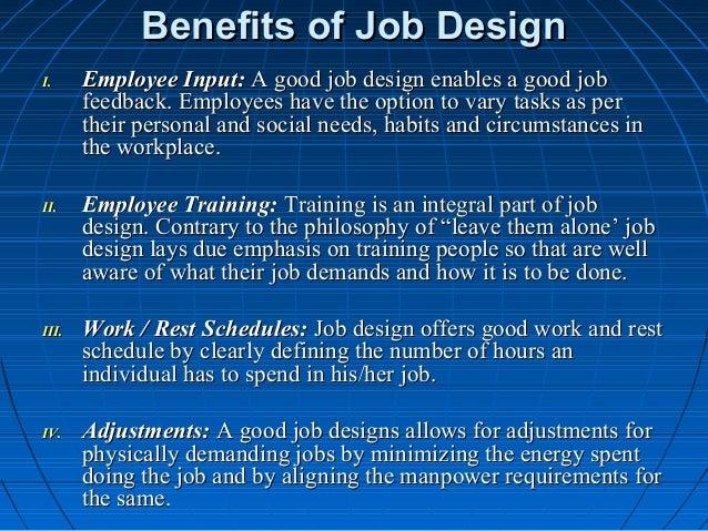 Benefit of job design racial discrimination research paper