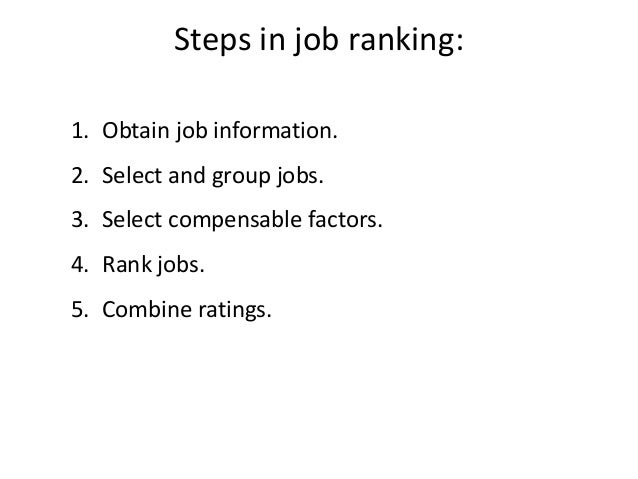 Job Design And Evaluation L6