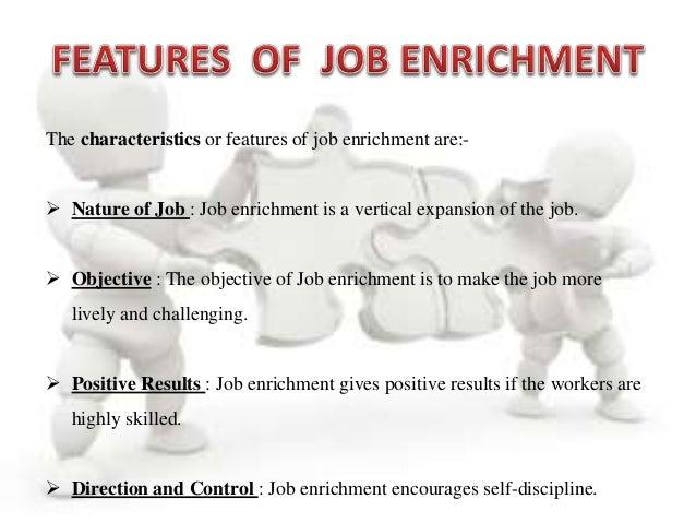 job enrichment is