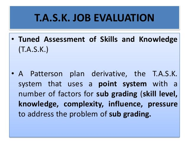 international evaluation manual grading scales