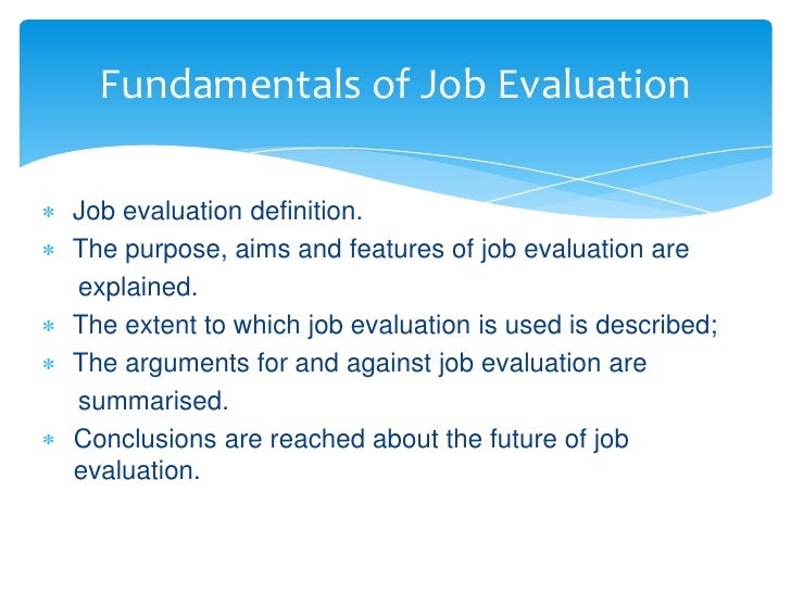 job evaluation schemes Principles of the njc job evaluation scheme  the njc job evaluation scheme is based on the principles of: joint ownership.
