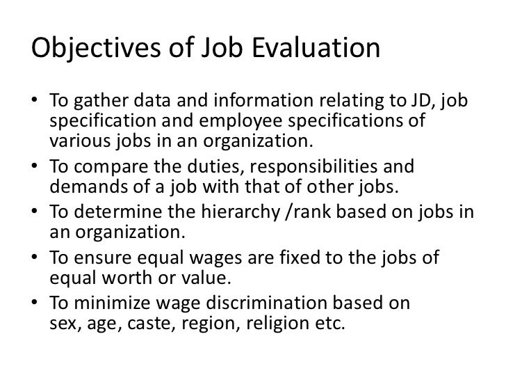 Lovely Objectives Of Job ... Intended Objectives For Jobs