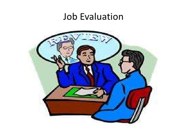 Job Evaluation<br />