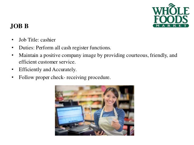job evaluation at whole foods 2005-12-7 p~lnt method of job evaluation / 2 6 5 developed by others (refer back to exhibit 88) it has long been accepted that three to five factors are sufficient to capture a desired criterion structure.