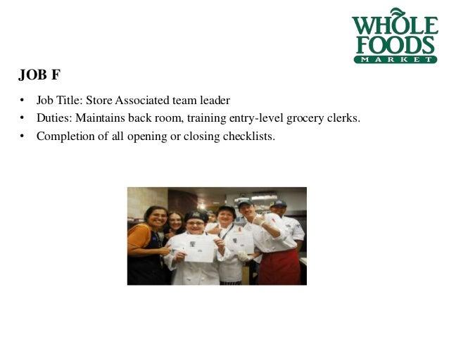 job - Food Preparer Job Description