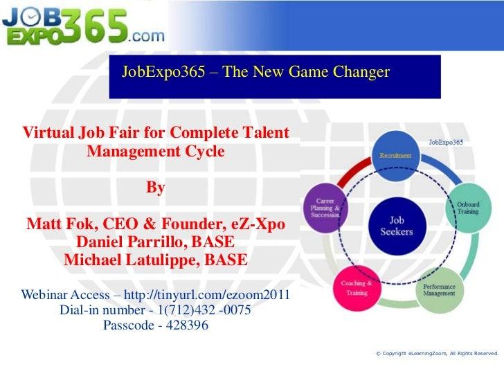 JobExpo365 - Virtual Job Fair