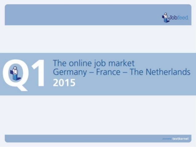 Jobs published in Q1 2015