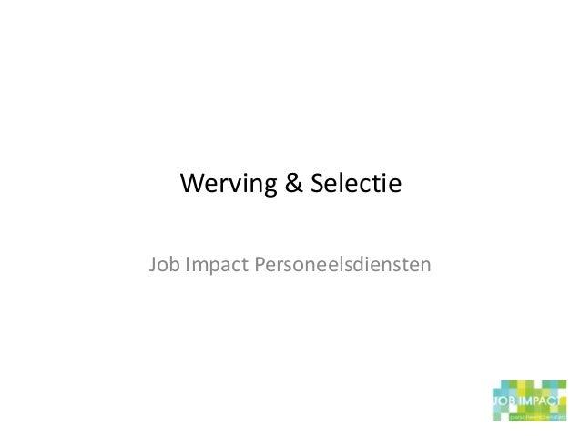 Job impact presentatie linked in ppt Slide 3