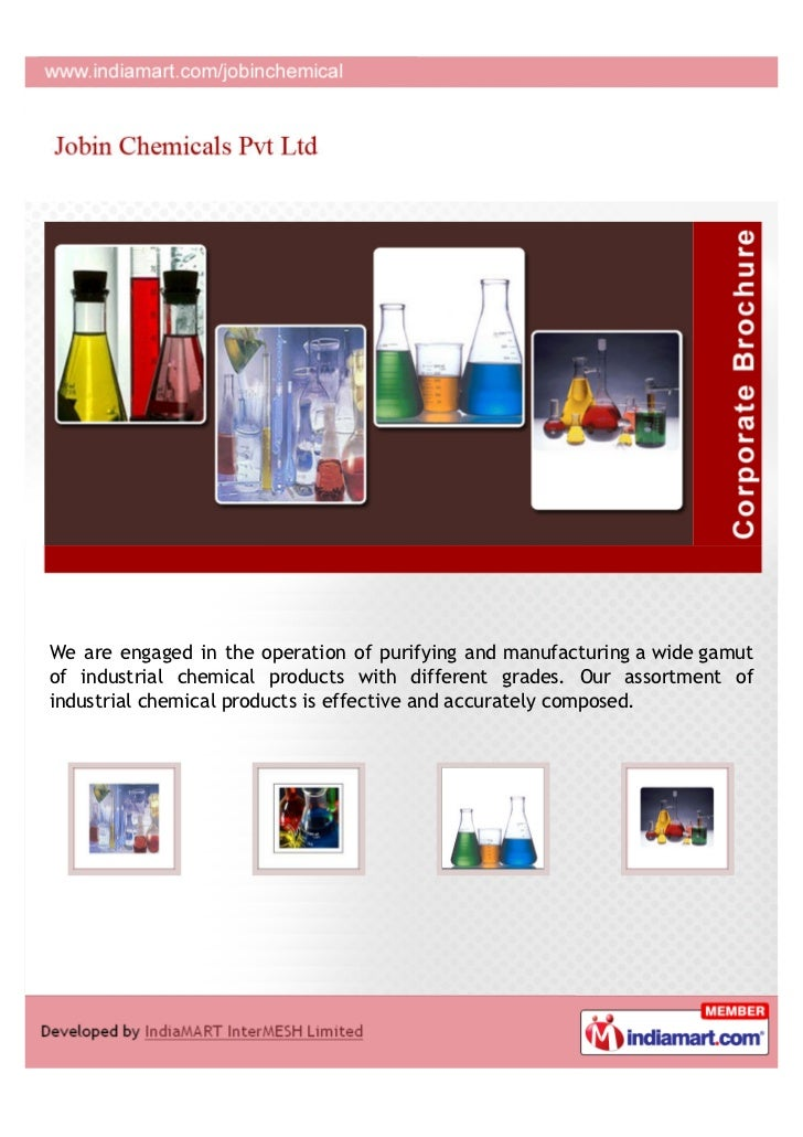 We are engaged in the operation of purifying and manufacturing a wide gamutof industrial chemical products with different ...