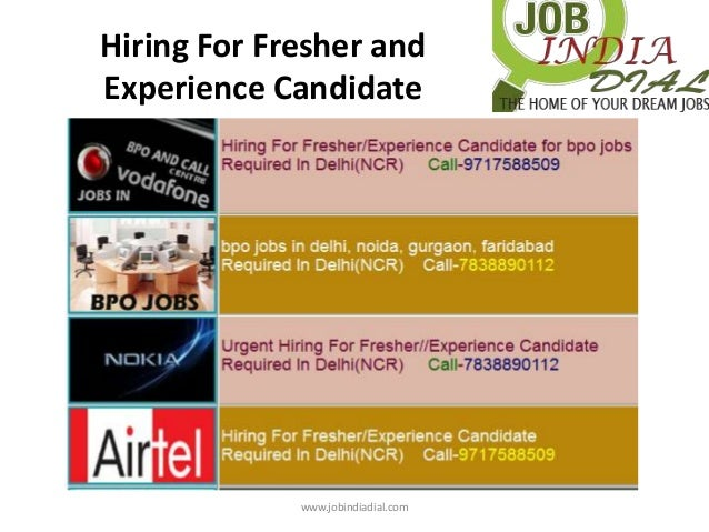 Fresher Jobs in Delhi - Search and apply for the latest Jobs in Delhi & near to Delhi for all qualifications such as graduates, diploma, 10th pass,12th pass and even for school dropouts via onelainsex.ml Explore the jobs vacancies in top MNCs, Govt / Private sector, walk-ins, internships, apprenticeships, Full time/Part Time jobs in Delhi and nearby your home.