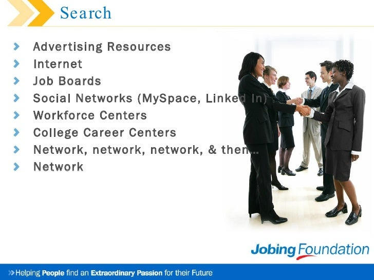 Job Seeker Presentation 8 Steps To Your Next Career
