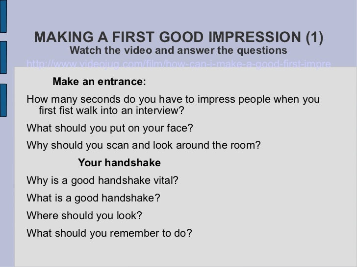how to do good in a job interview