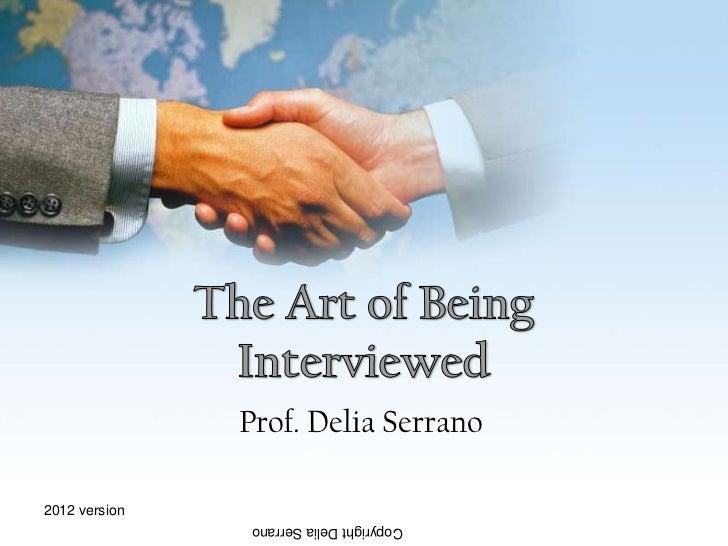 Prof. Delia Serrano2012 version                Copyright Delia Serrano
