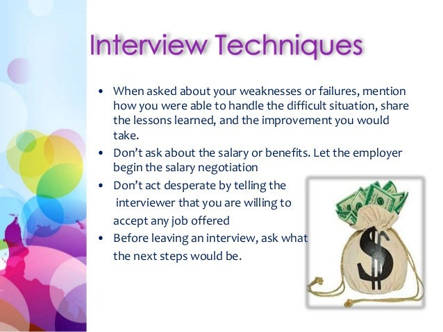 job interview techniques Discover the best job interviewing in best sellers find the top 100 most popular items in amazon books best sellers  and other devious interviewing techniques.