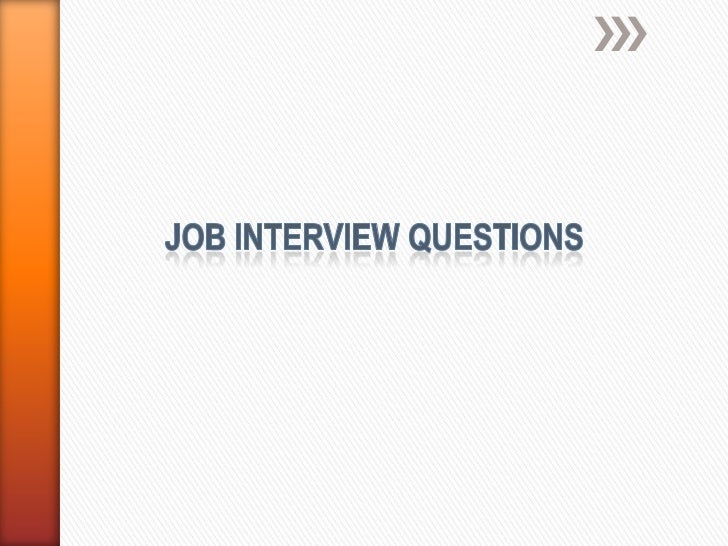 » To prepare employer for a meaningful job  interview» Address 10 key questions that help to  profile the candidate