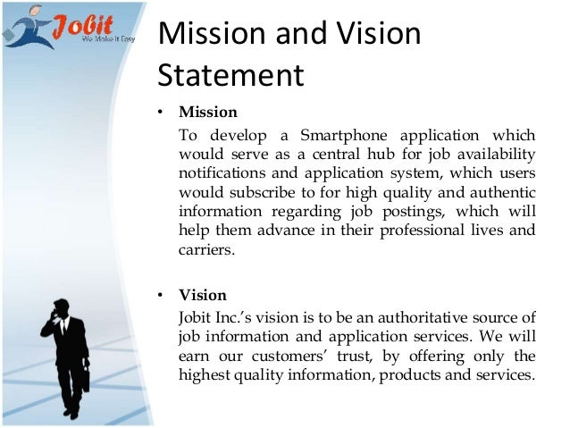 vision and mission of business plan